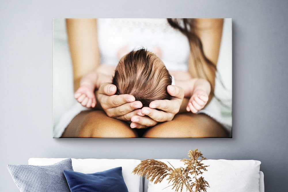 Big canvas print on the wall