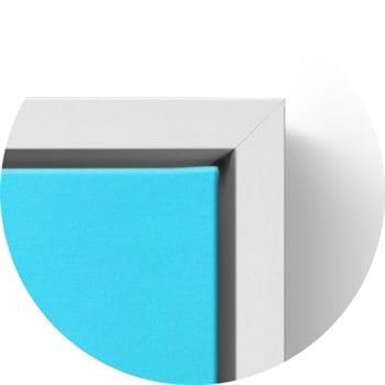 Floating frame white