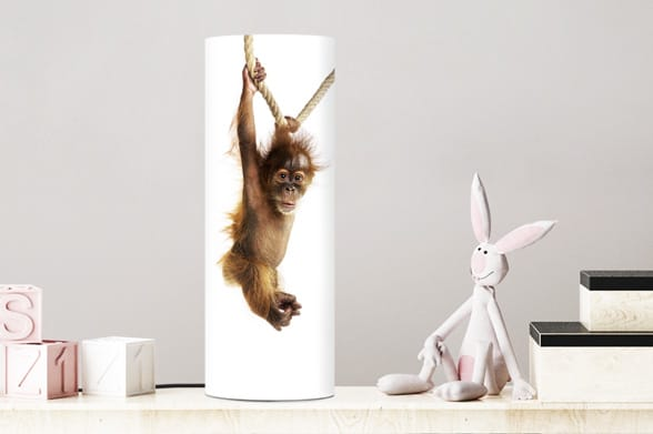 Lamp little monkey