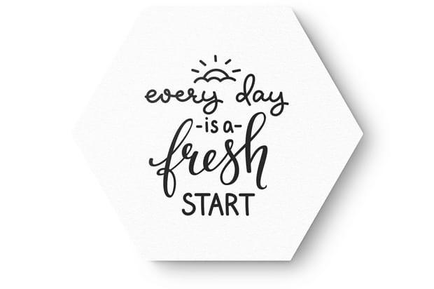a fresh start