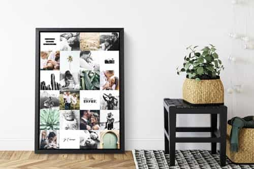 Photo on canvas hanging kit