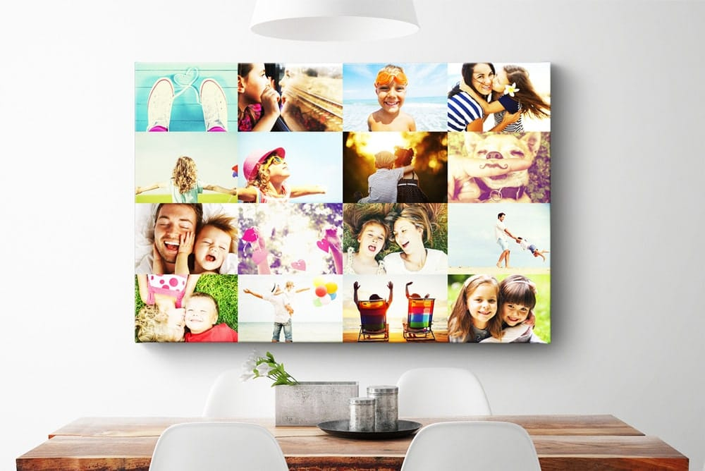 Collage on Canvas - Easy to Create Online &