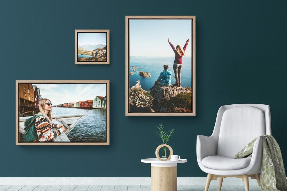 Floating Frames Hellocanvas